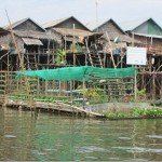 Cambodia - Floating Village water filter floating village view