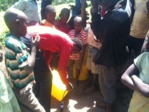 Attaching Donated Water Filters