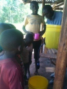clean water filtered by water for life