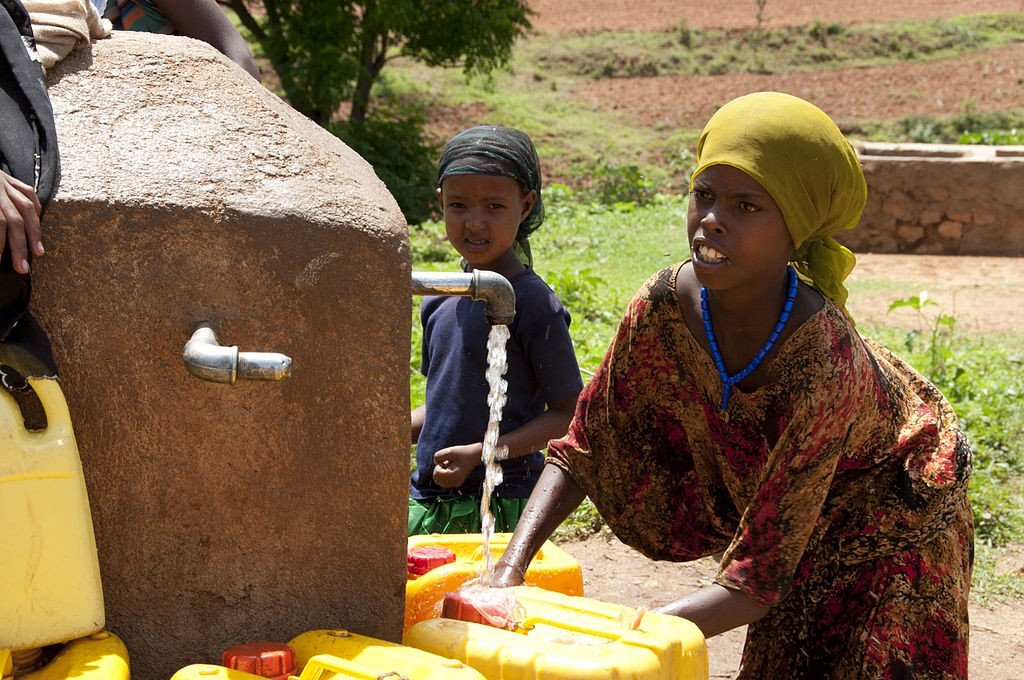 Water for Life filters provide clean water in Ethiopia